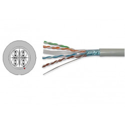 Витая пара кабель AMP F/UTP 500MHz кат.6А LSZH