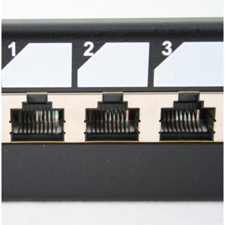 "Патч-панель 19"" 16xRJ-45 FTP, cat.5e"