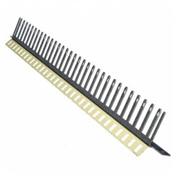 Corning Скоба-держатель плинтов до 32 шт с закрытым кабельным организатором
