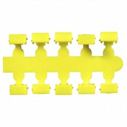 Маркировочный колпачок Corning желтый 10 шт серия 1000RT
