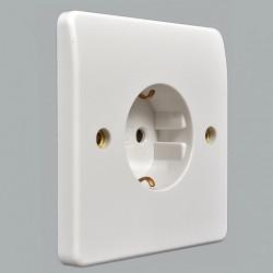 Розетка электрическая MK Electric Logic Plus, 220В, 16А, 86х86 мм