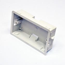 Подрозетник внутренний MK Electric 2G для гипсокартона, глубина 35 мм