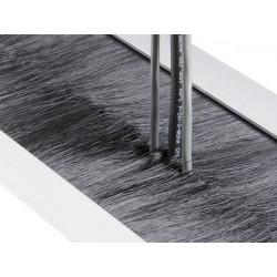 Щеточный кабельный ввод 400х100мм для шкафов PureAlume