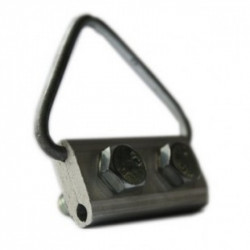 """VAGO Зажим поддерживающий П0, кабельная арматура Premium для кабеля типа """"8"""" и круглой формы"""