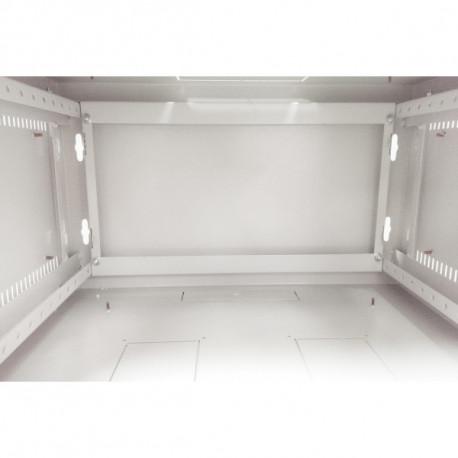 Шкаф настенный 6U 600x600 Дверь стекло
