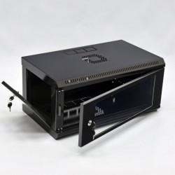CMS Шкаф настенный 4U эконом, 600x350x284 мм, черный