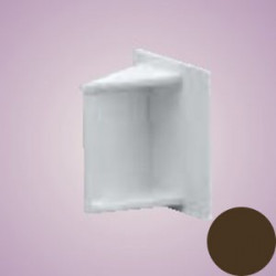 Marshall Tufflex 25x16мм Заглушка коричневая