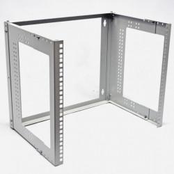 """Кронштейн настенный 19"""" 12U, глубина 280-480 мм, серый"""