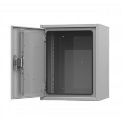 IP54-12U 650х400х680 антивандальный уличный шкаф