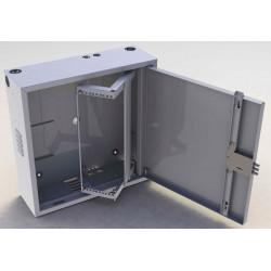 Шкаф антивандальный 663T 3U 600х600х200