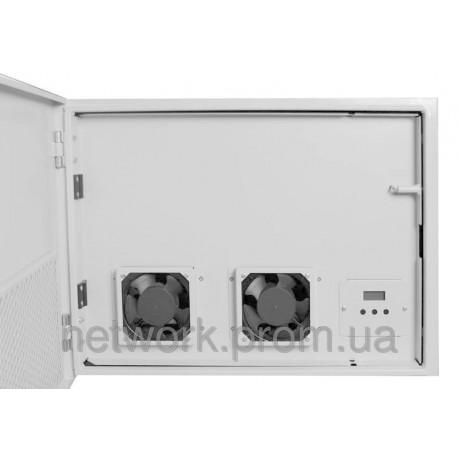 Климатический шкаф 12U-450  с подогревом и охлаждением 628*686*536