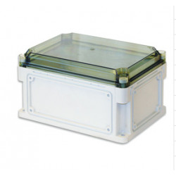Бокс пластиковый уличный IP 67 300х150х160 мм прозрачная крышка