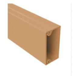 ДКС Мини короб 22x10мм, 2м коричневый