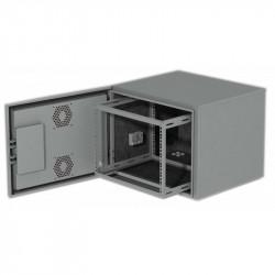 12U Всепогодный уличный климатический шкаф