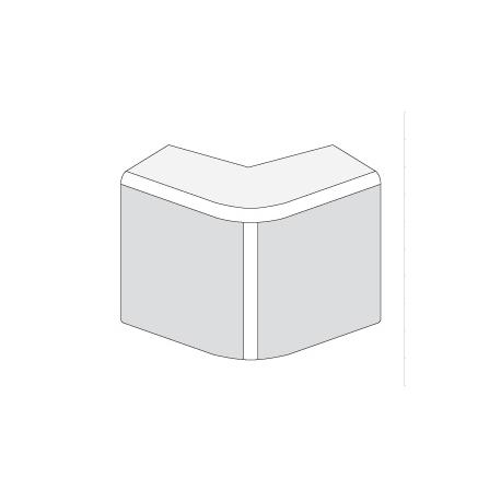 ДКС 40x17мм Угол внешний, белый