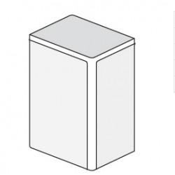 ДКС 40x17мм Заглушка, коричневый