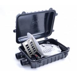 Волоконно-оптическая муфта GJS-5006 на 12- 24 волокна (планка 12SC)