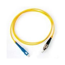 Коннектор оптический (собранный) FC simplex SM (PC), 0,9мм