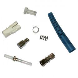 Коннектор оптический (не собранный) FC simplex SM (PC), 0,9мм