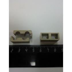 Холдер для коннекторов (серый) SC MM Duplex