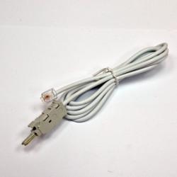 Шнур тестовый для плинта, 2 контакта c конектором 6P2C, 1.5 м (паралель) EPNew
