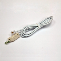 Шнур тестовый для плинта, 4 контакти c коннектором 6P4C, 1.5 м (розрыв) EPNew