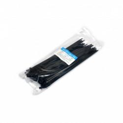 Стяжки 200 х4.0 мм, черная, 100 шт., Украина