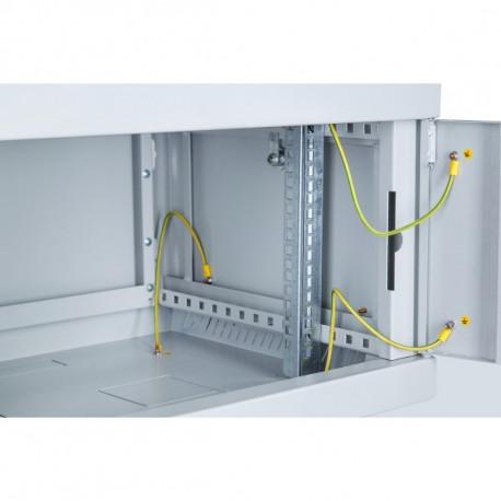 Шкаф настенный 12U 600x600 Дверь перфорация