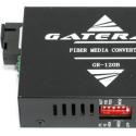 Медиаконвертер 100Мбит, SC 20км, передача 1310, приём 1550, Gateray GR-120B LFP