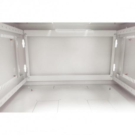 Шкаф настенный 15U 600x450 Дверь стекло