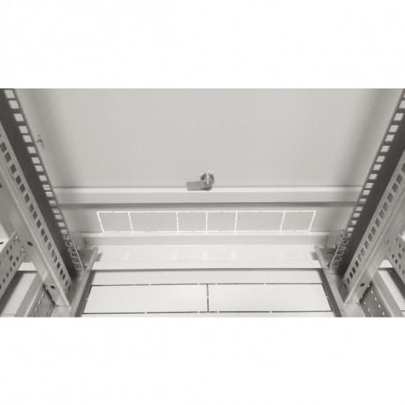 Шкаф напольный 18U 600x600 Дверь перфорация