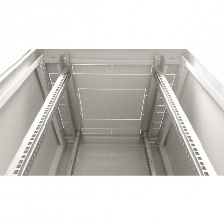 Шкаф напольный 18U 600x800 Дверь стекло