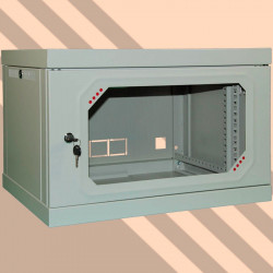 Шкаф настенный CSV Wallmount Lite 6U-450 (акрил) 645-A-ШН