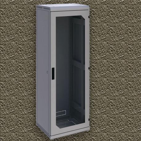 Шкаф напольный 33U 600x600 Дверь стекло