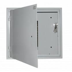 Антивандальный ящик БК-550-2U-С-ПТ сталь 1.8 мм
