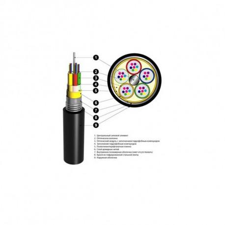 Кабель оптический ОАрБгП 2,7кН 4 волокна грунт