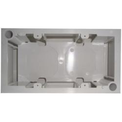 Подрозетник 80x150mm для внешней установки внутренней розетки