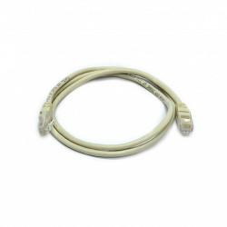 Патч-корд серый UTP cat5e 0.5m, медь