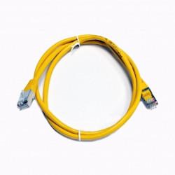 Патч-корд желтый 2м медный FTP кат5e