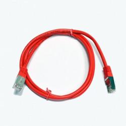 Патч-корд красный 2м медный FTP кат5e