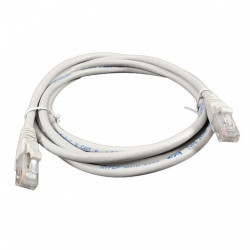 Патч-корд 0,5м серый UTP кат6