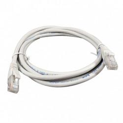 Патч-корд 1м серый UTP кат6