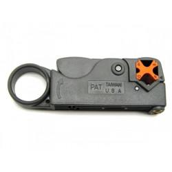 Инструмент для обрезки и зачистки коаксиального кабеля
