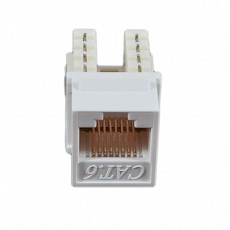 Модуль KeyStone RJ45 UTP, кат. 6, 110, Slim, W - 16.6 мм, белый