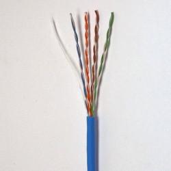 Витая пара кабель Panduit UTP, кат.5e, PVC, синий, 305м
