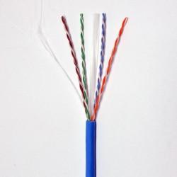 Витая пара кабель Panduit UTP, кат. 6, LSZH, синий, 305м