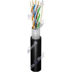 Витая пара кабель FinMark FTP кат 5е,черный, 500м