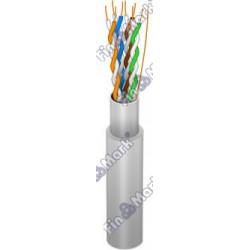 Витая пара кабель FinMark FTP кат 5е, PVC, серый, 305м