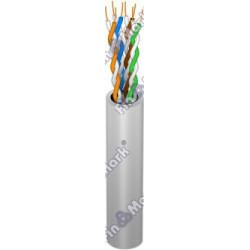 Витая пара кабель FinMark UTP кат 5е, PVC, серый, 305м