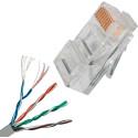 Патчкордовый многожильный кабель